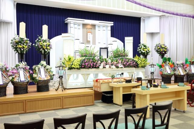 家族葬 供花